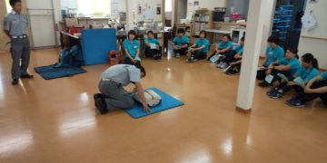 心肺蘇生法・AED講習を行いました。の画像